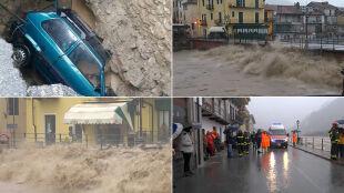 Potężne ulewy nękają północne Włochy. Ogłoszono najwyższe alerty pogodowe