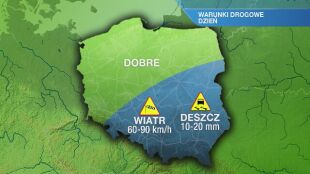 Warunki drogowe we wtorek 26.05